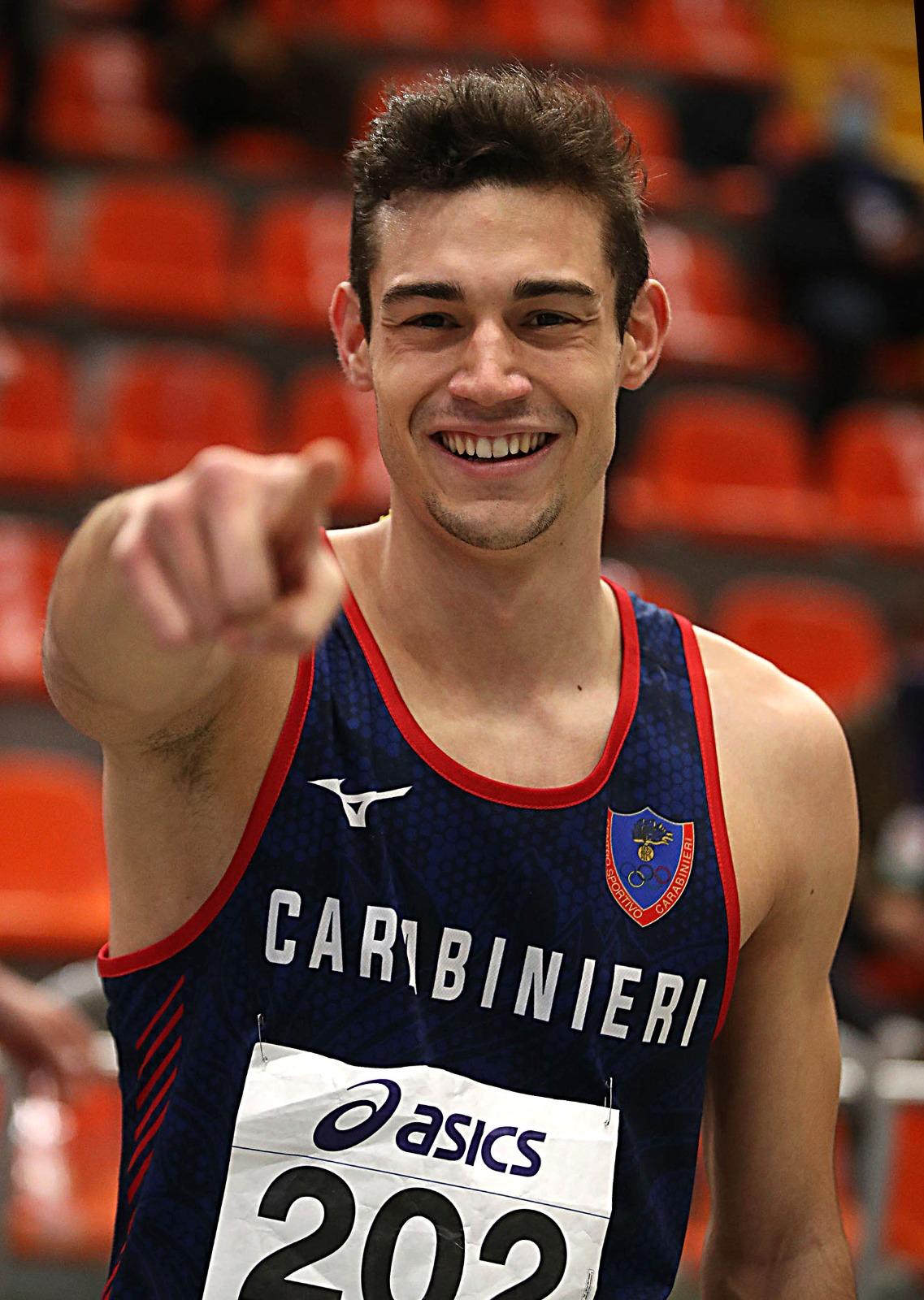Dario Dester Indoor Champ for Eptathlon: new national record 6.076 pt