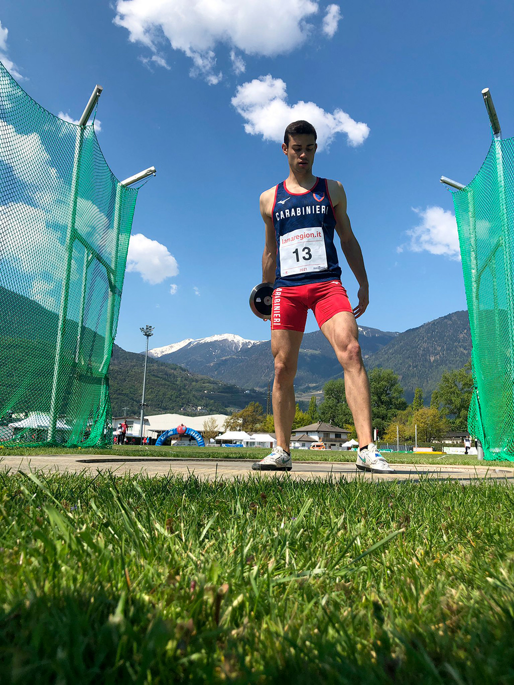 Super Dario Dester! PB at the first outdoor season competition.